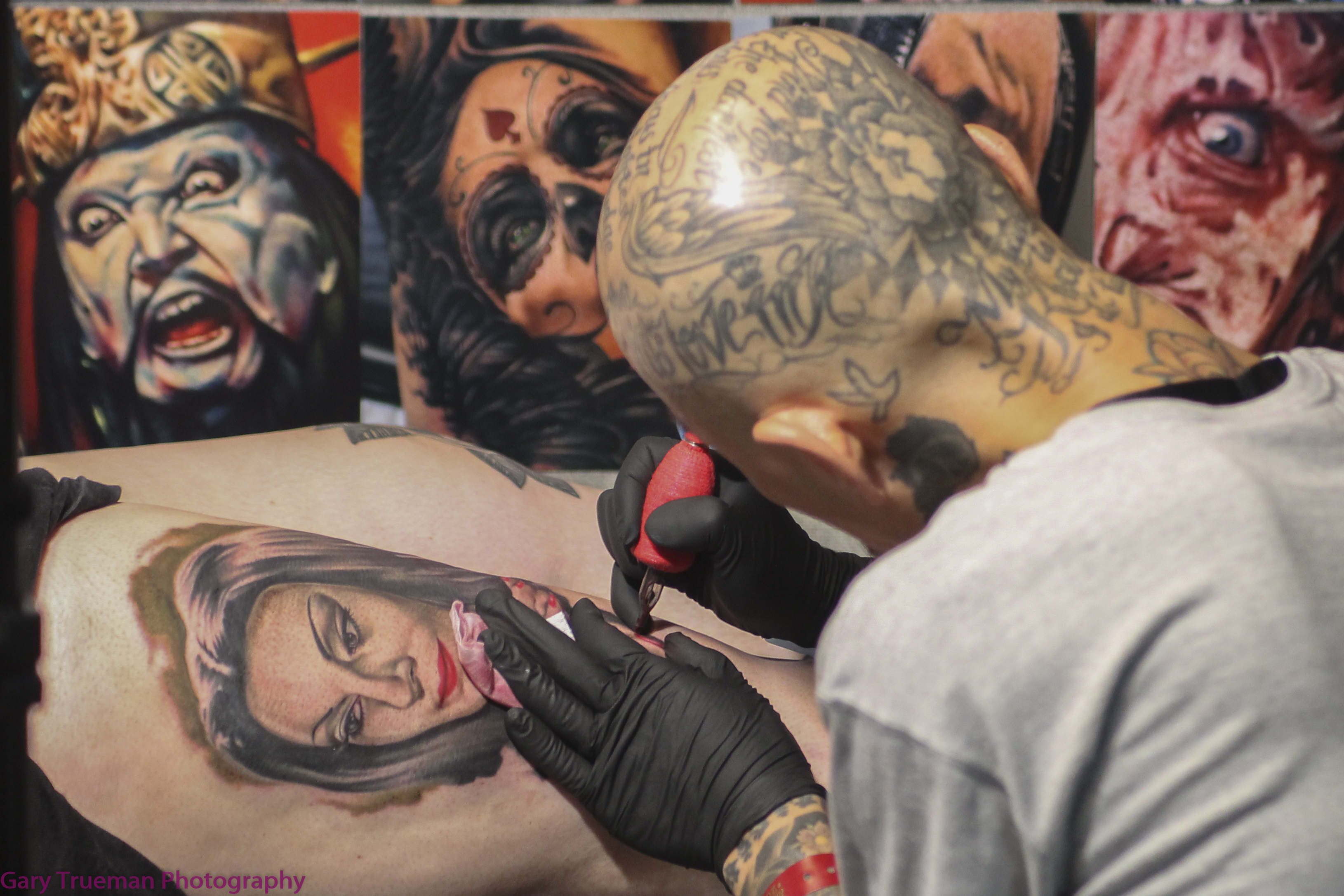 Live: London Tattoo Convention