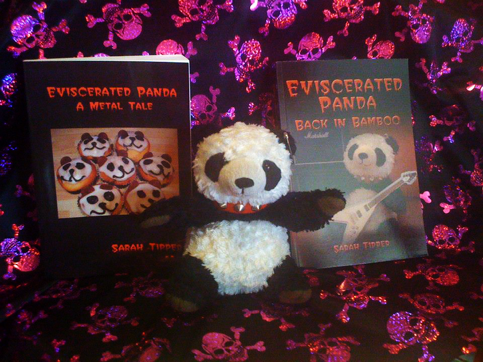 News: Sarah Tipper's Novel 'Eviscerated Panda – A Metal Tale' – Free On Kindle This Weekend.