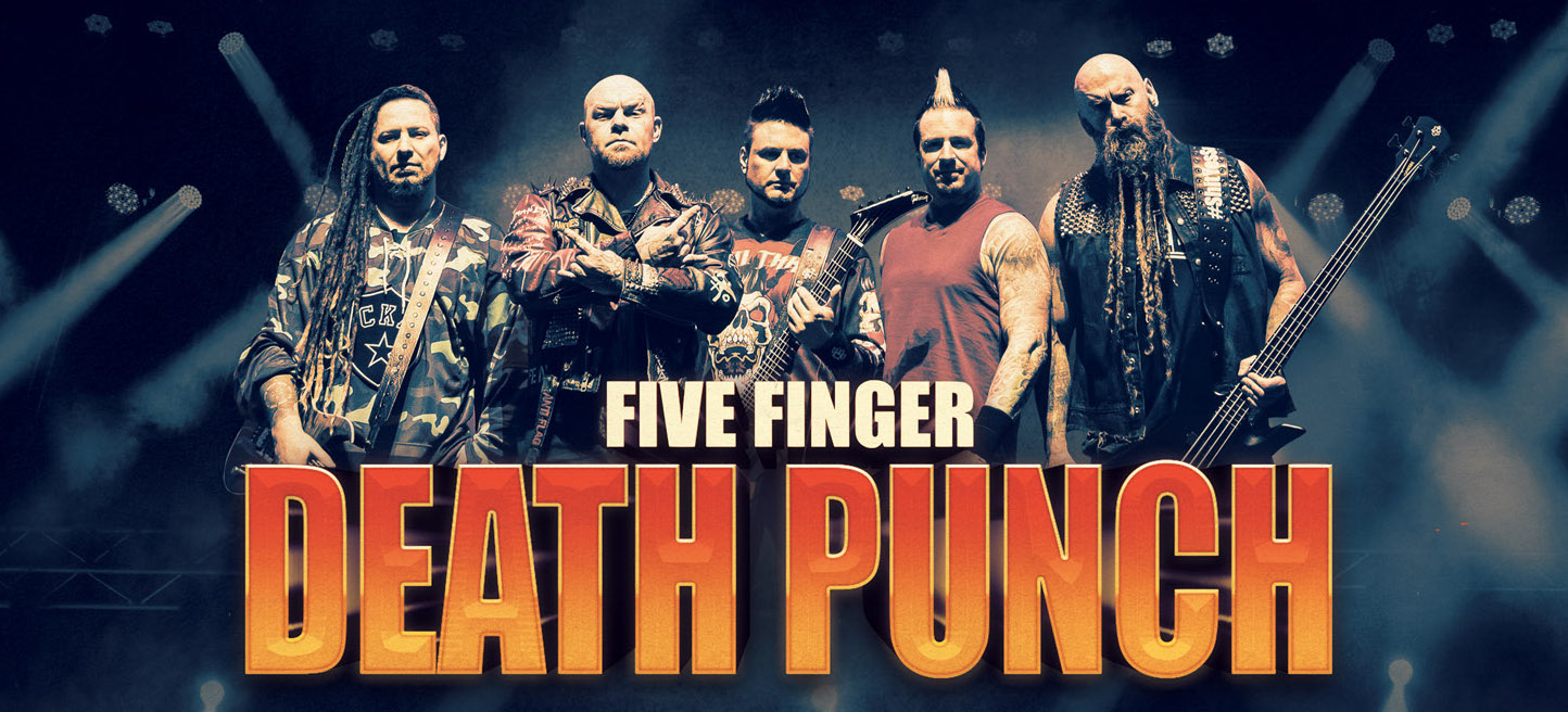 News: Five Finger Death Punch reveal brand new song, Fake