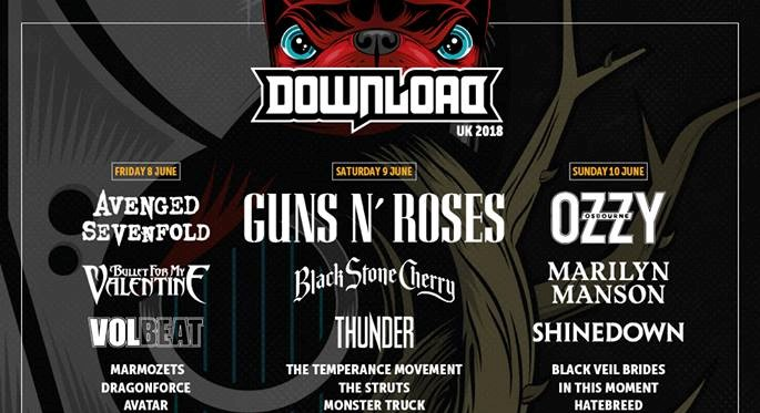 News: Download festival future assured, improved disabled facilities and a greener festival for 2018