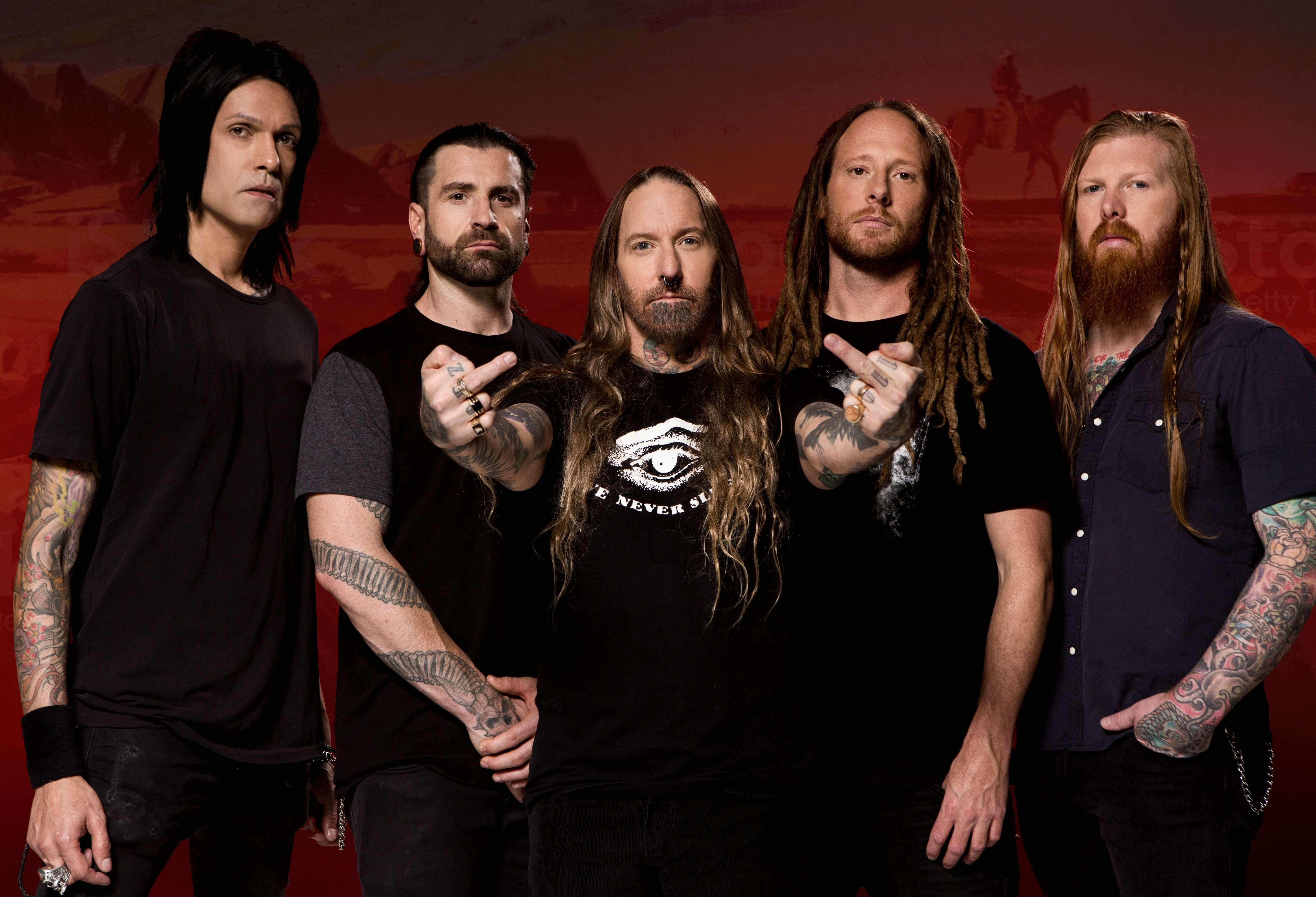 News: Devildriver announce Outlaws 'Til The End album