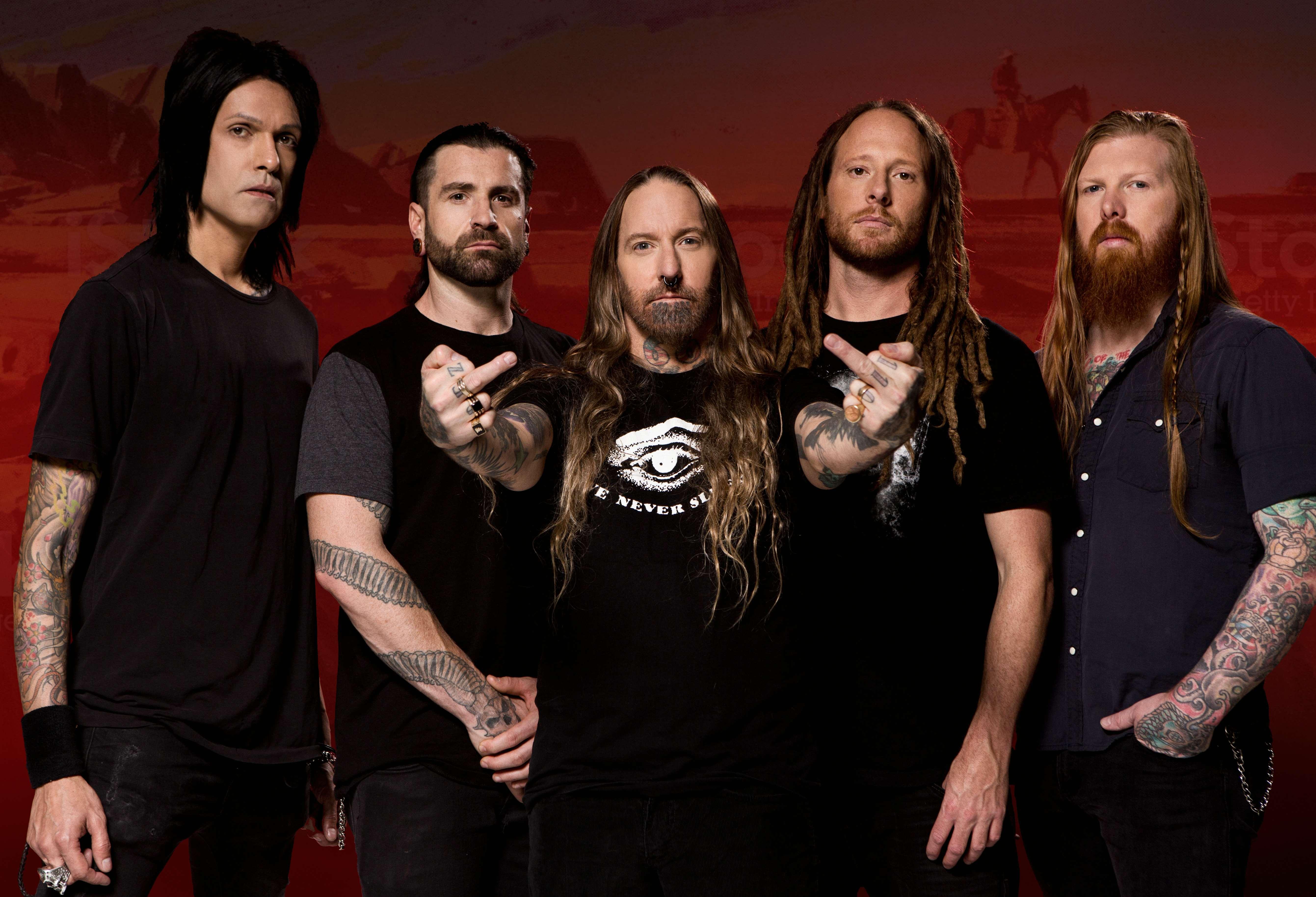 News: Devildriver announce Outlaws 'Til The End album