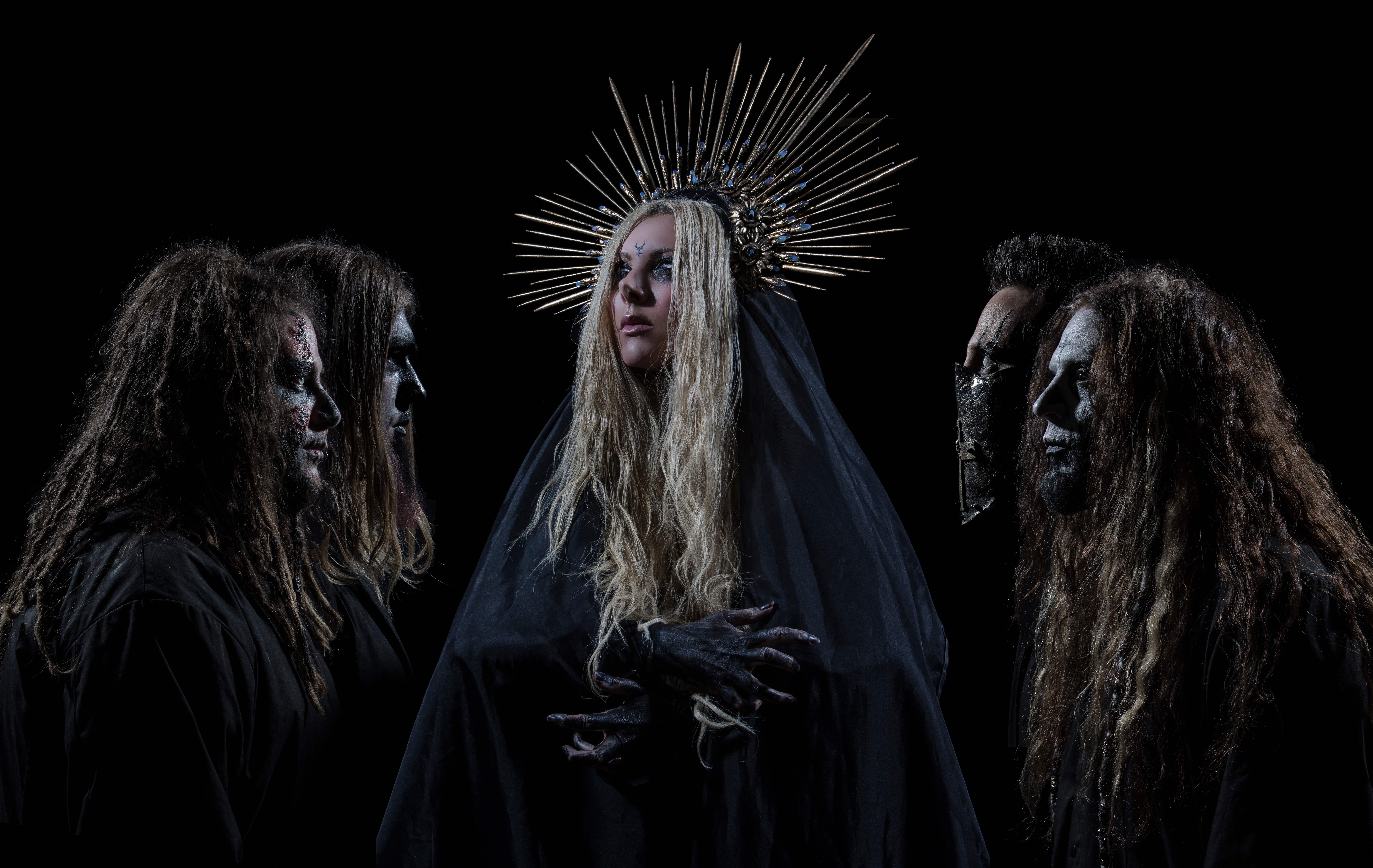 News: In This Moment have unveiled a dark new video for 'Black Wedding', featuring Judas Priest frontman, Rob Halford