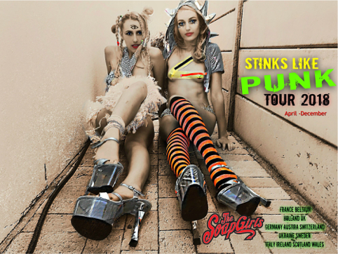 News: The SoapGirls – Stinks Like Punk Tour 2018