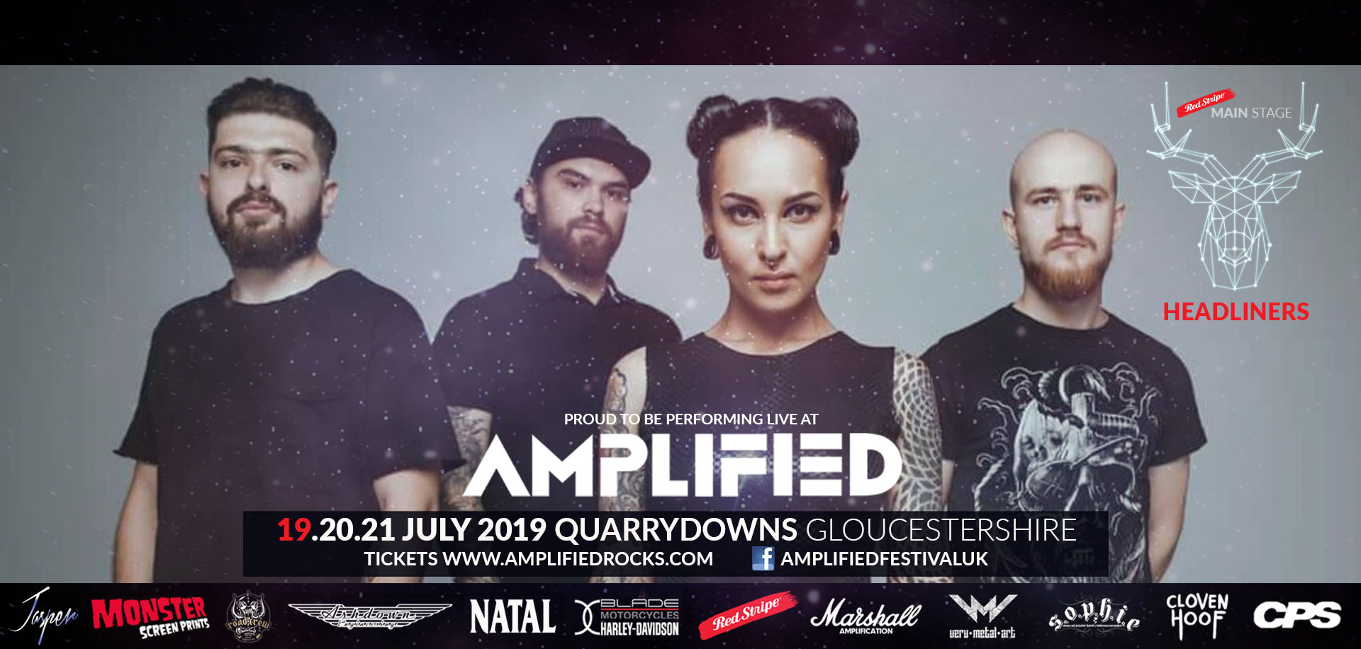 Festival News: Amplified Festival 2019: Friday Main Stage Headliner, VMA Stage Headliners And More Confirmed Acts