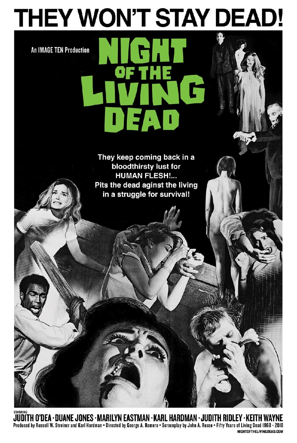Review: 6 Days, 6 Movies, 6 Reviews : 6. Night Of The Living Dead