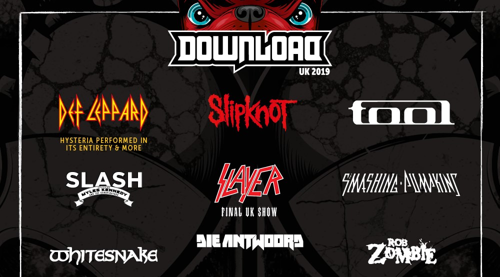 News: Slayer and The Smashing Pumpkins head up new Download Festival band announcement.