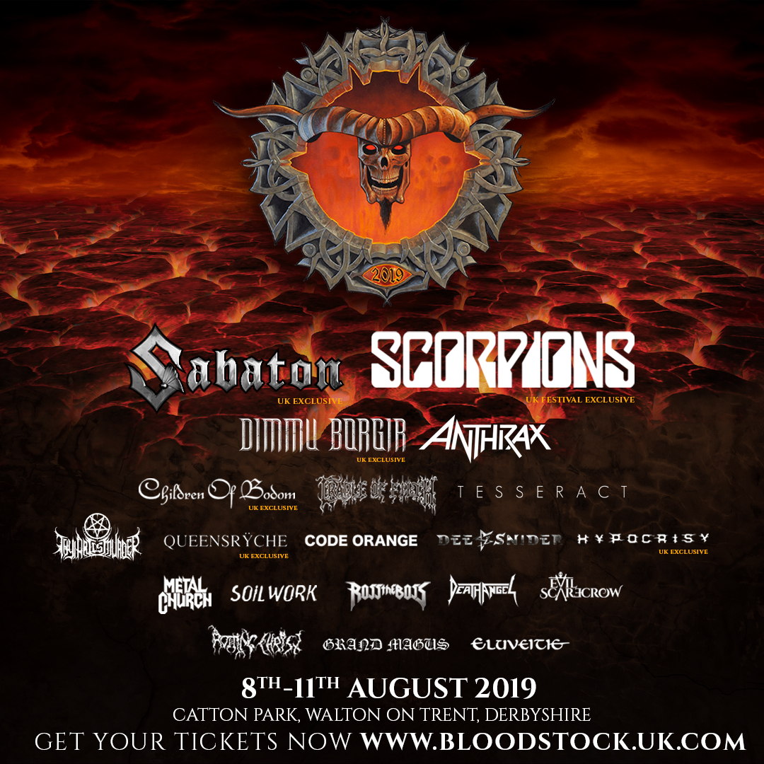 News: Bloodstock Festival announces another four for 2019!