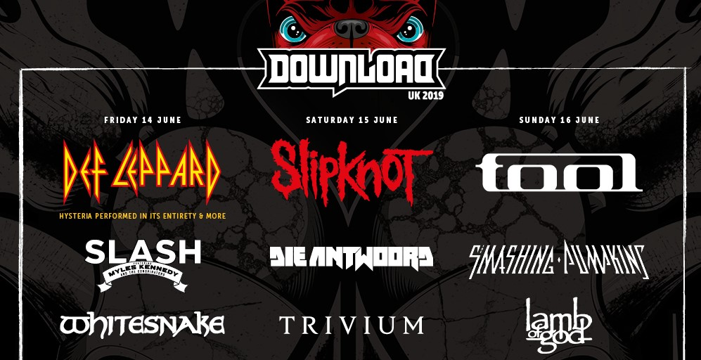 News: 43 more bands added to the Download 2019 line up