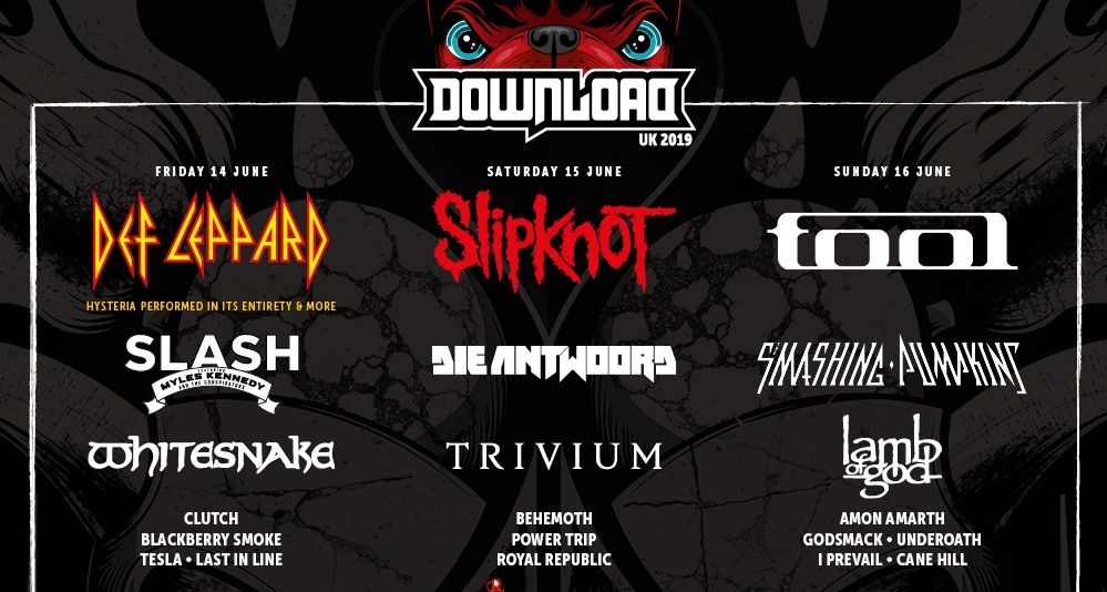 News: Seventeen more bands and WWE NXT UK added to Download festival line up.