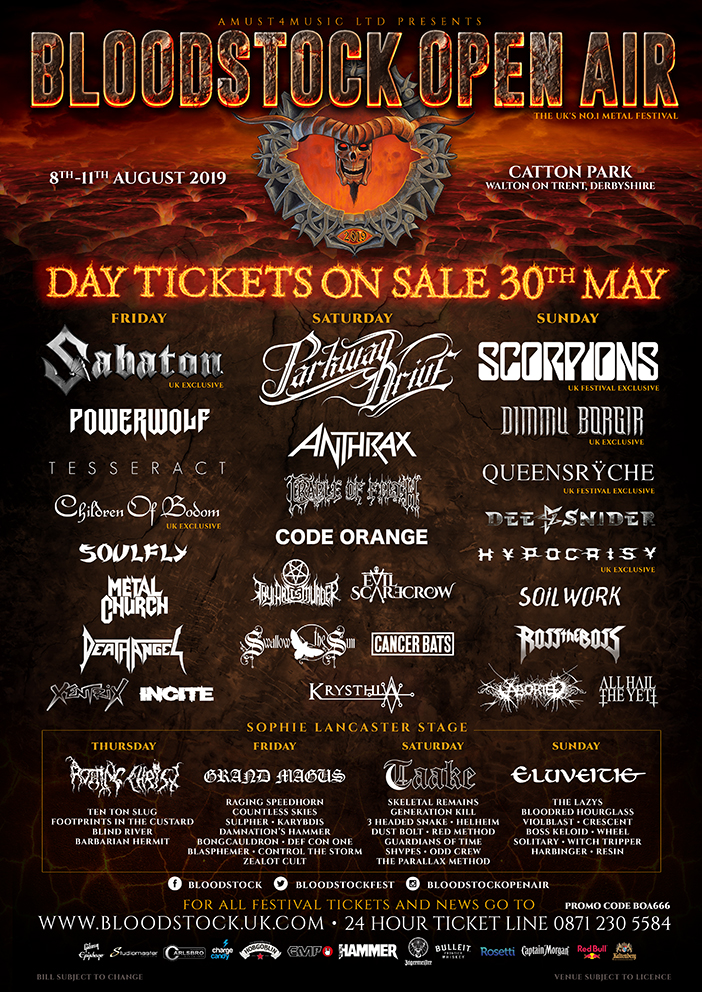 News: Bloodstock Release Day Tickets