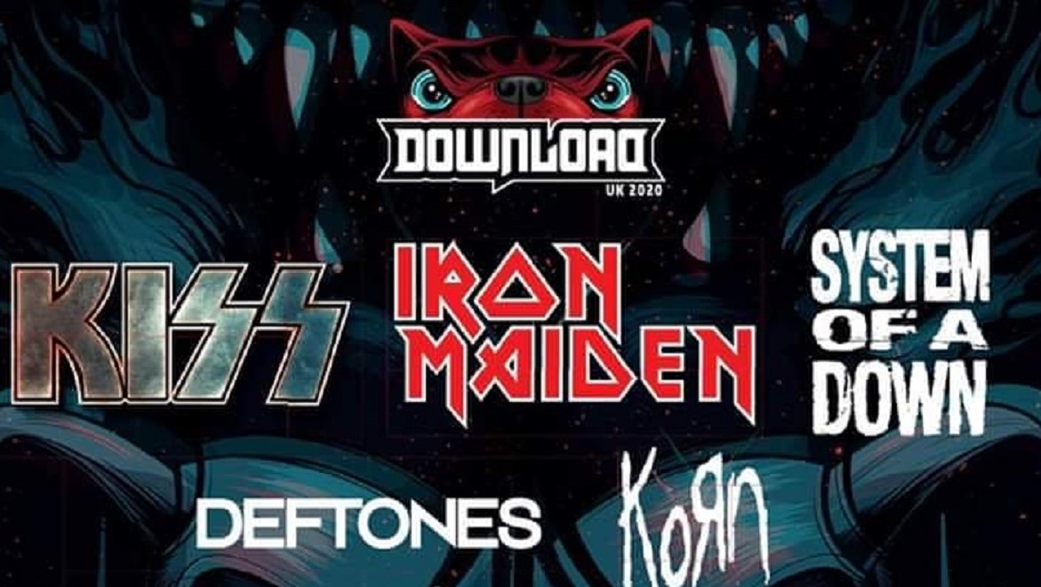 News: Kiss, Iron Maiden and System Of A Down to headline Download Festival 2020