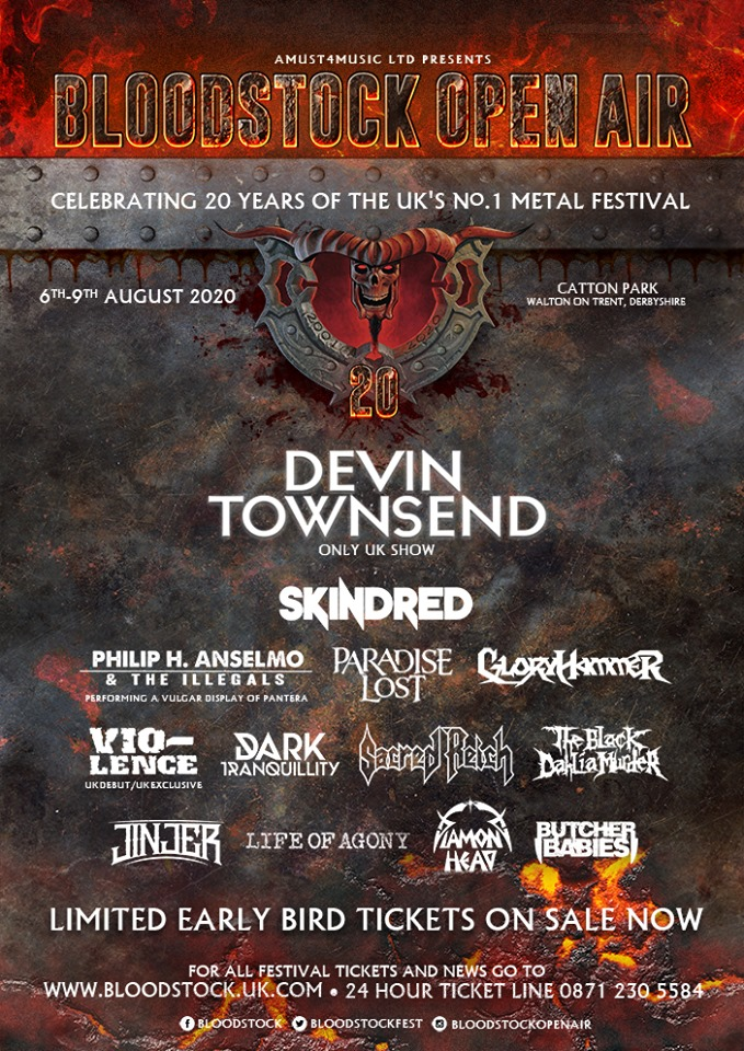 News: Bloodstock Reveal Four More For Ronnie James Dio Stage