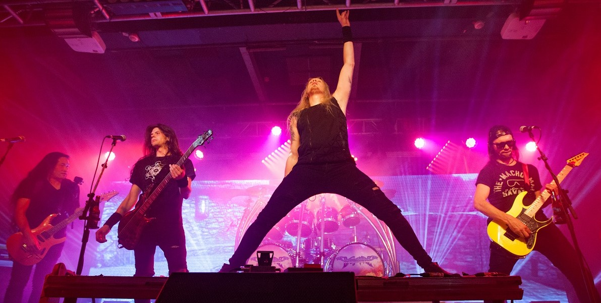 Live Review: Dragonforce/Lovebites/McRocklin And Hutch