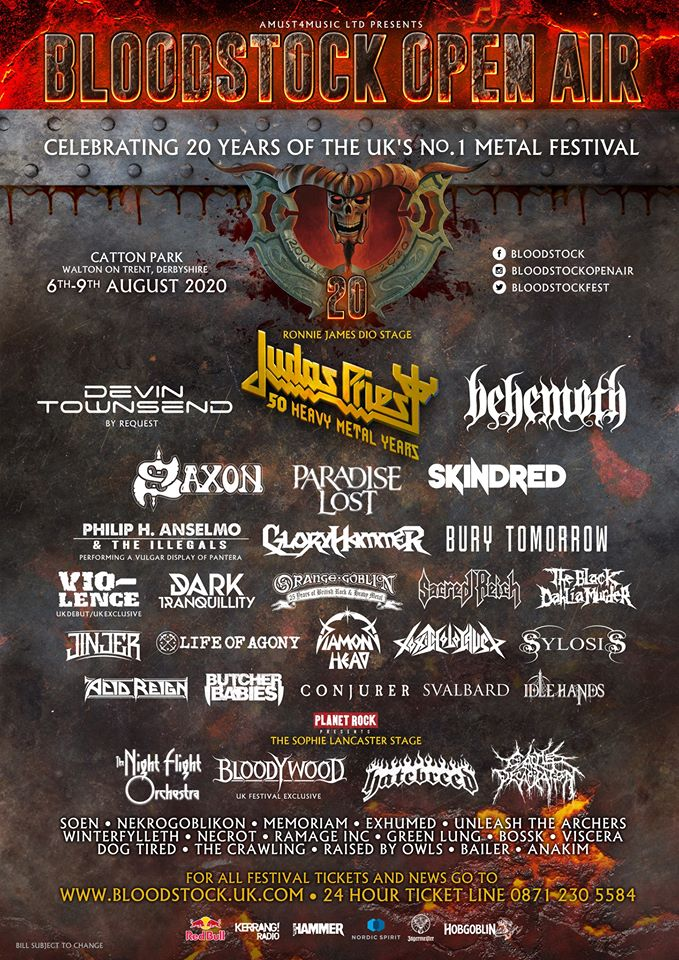 News: Bloodstock Confirm 7 More Bands & Announce On Site Gaming Area