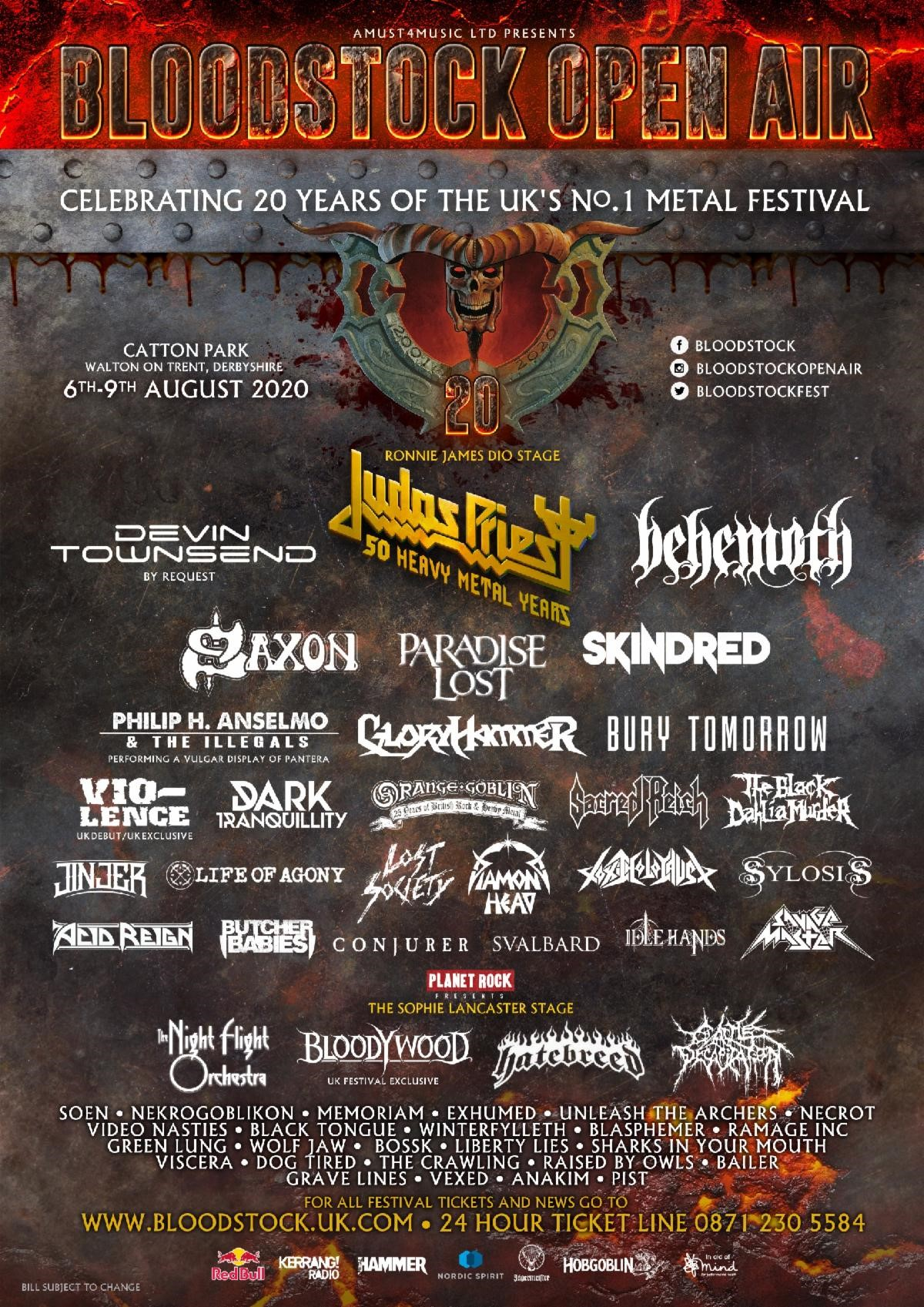 News: Bloodstock Clarifies 2020 Event Position, Reveals Further Bands For August