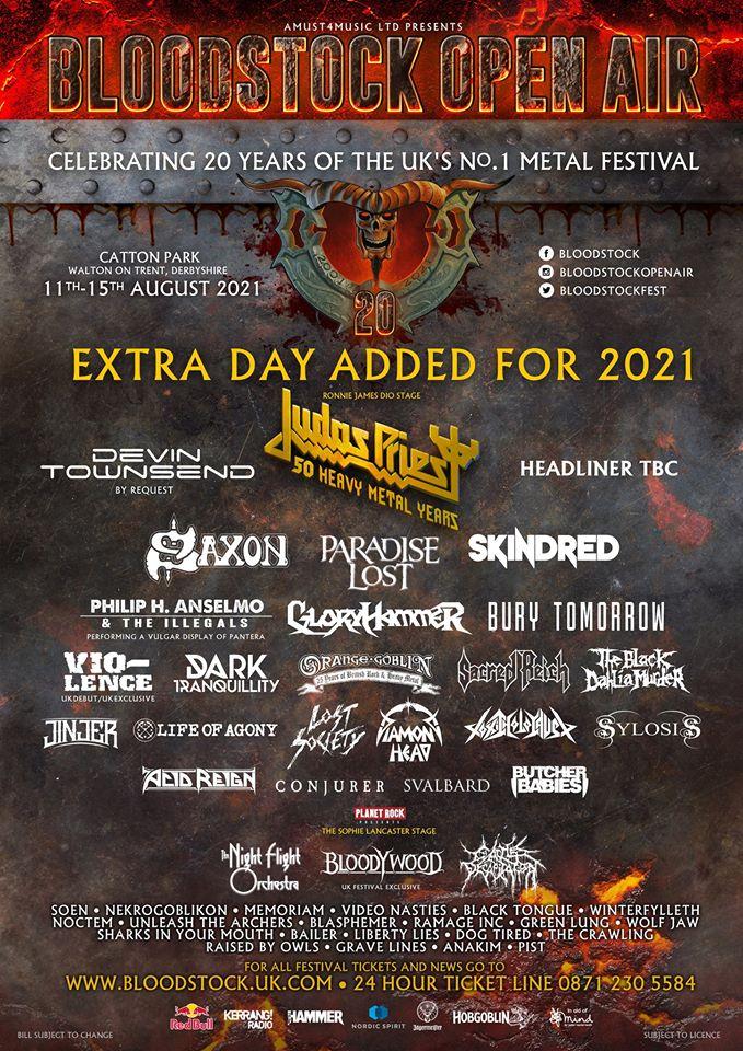 News: Bloodstock Festival Postponed Until 2021