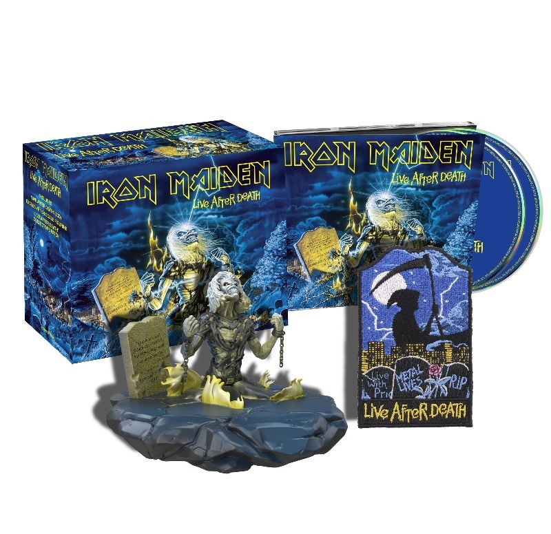 News: Iron Maiden Release The Live Collection – Remastered
