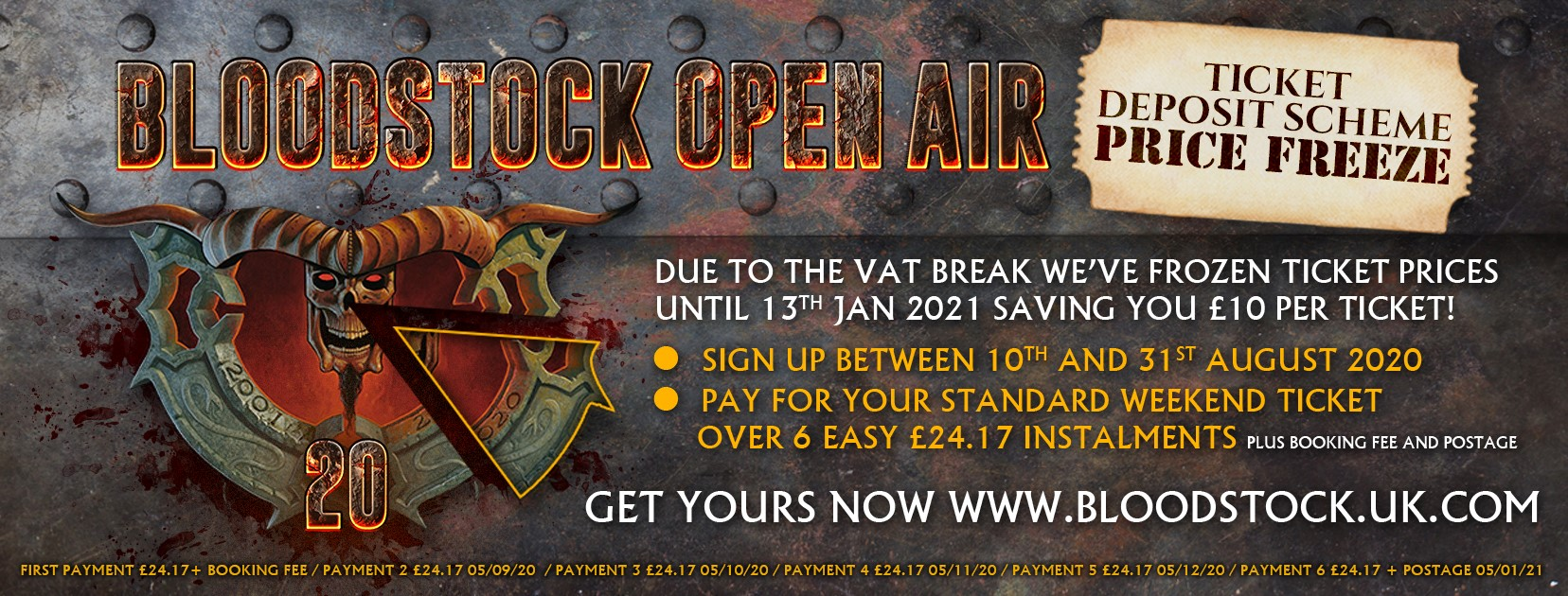 News: Bloodstock Open Air Festival To Pass On Vat Saving To Customers