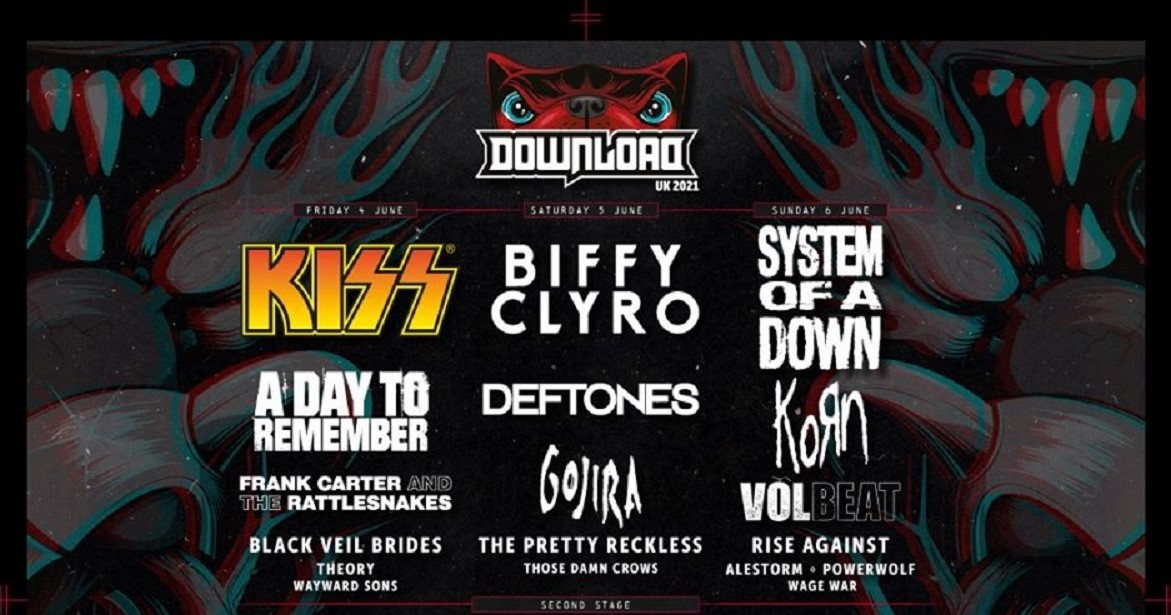 News: Download Festival announce a massive 80 bands for 2021