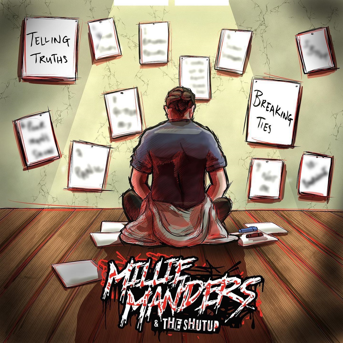 Review: Millie Manders And The Shutup – Telling Truths, Breaking Ties