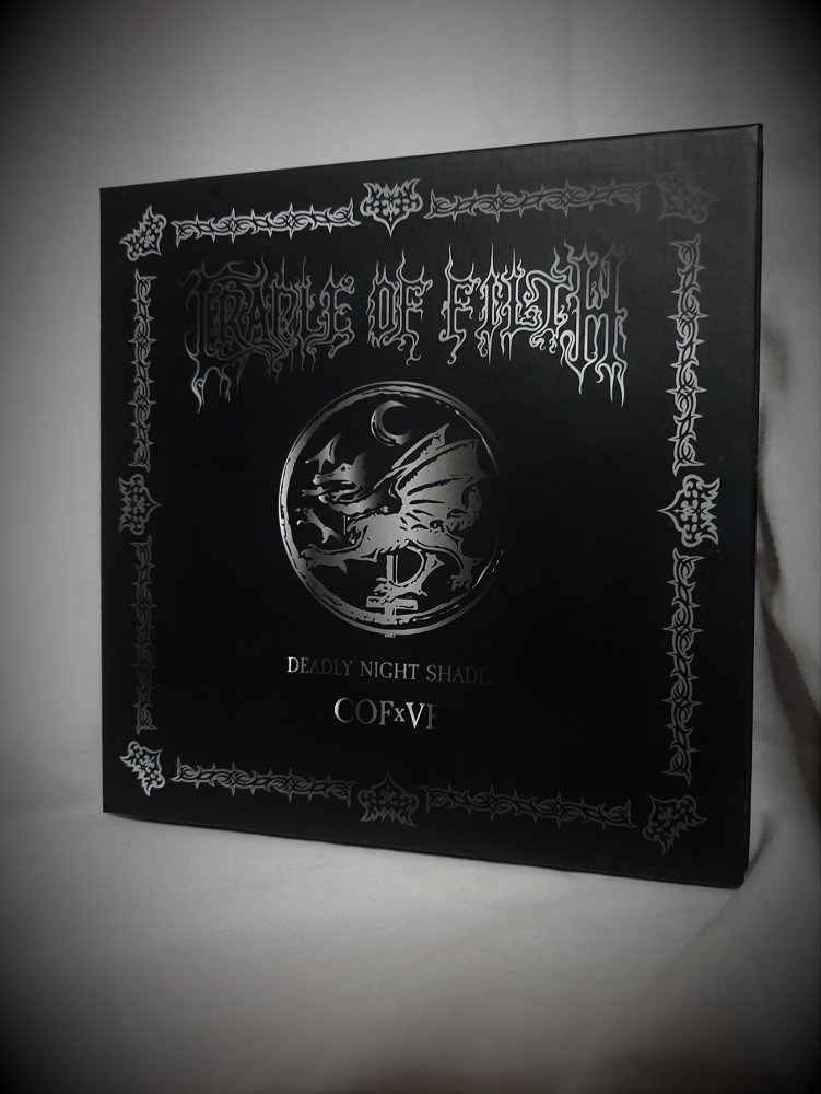 Review: Ve Cosmetics and Cradle of Filth – Deadly Nightshade Palette