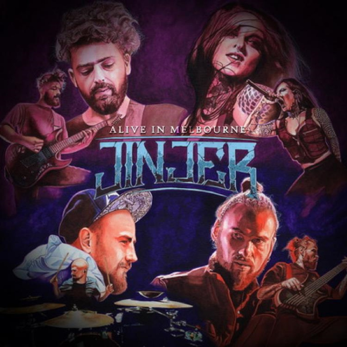 Review: Jinjer -Alive In Melbourne (Live)