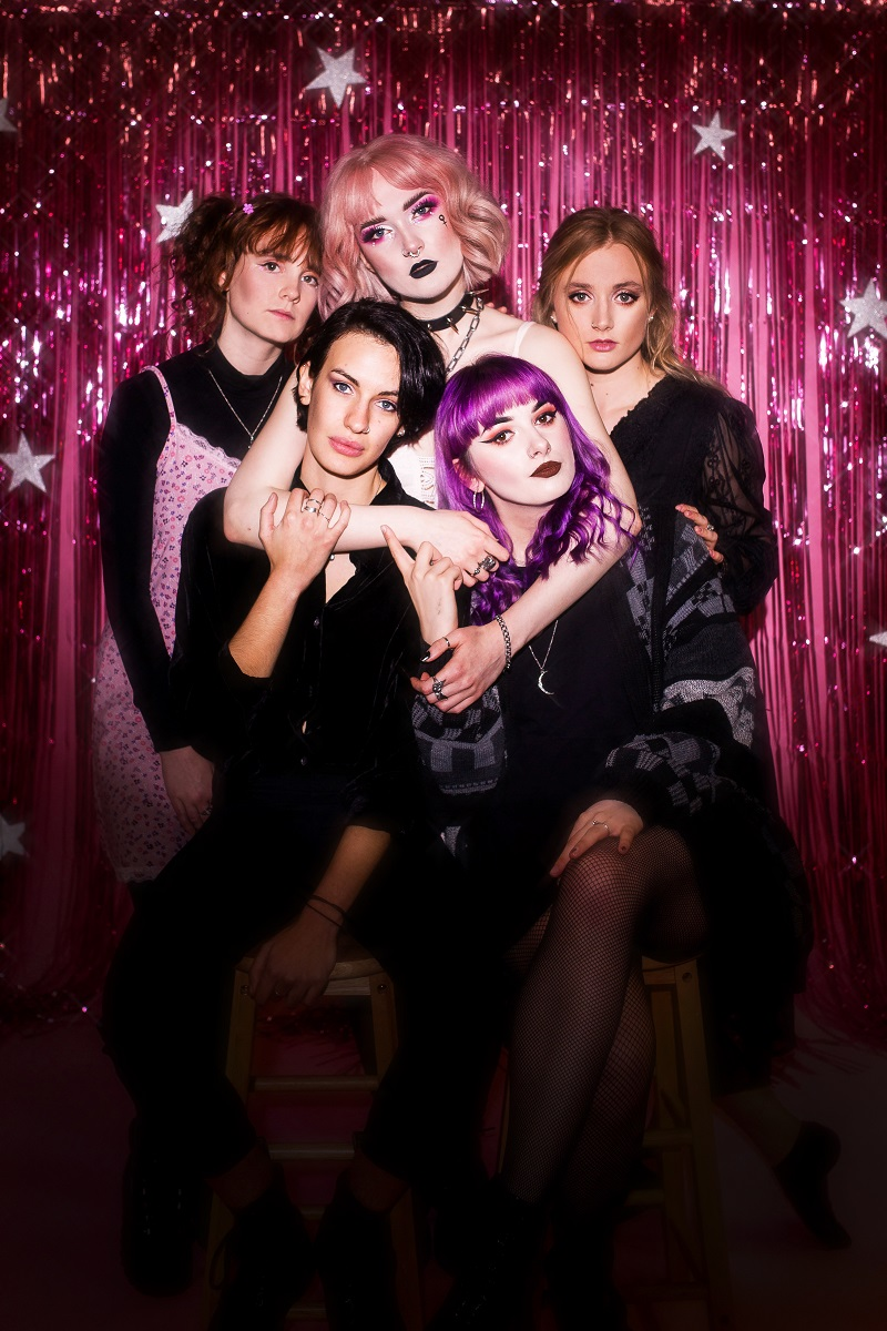 """Interview: Venus Grrrls """"The music industry still has a long way to go but  our hope for the future is that it'll be more inclusive and accessible."""" -  Devolution Magazine"""
