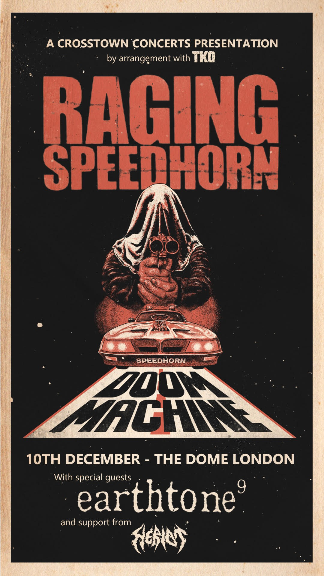 News: Raging Speedhorn Release New Video And Announce Only 2021 Headline Show