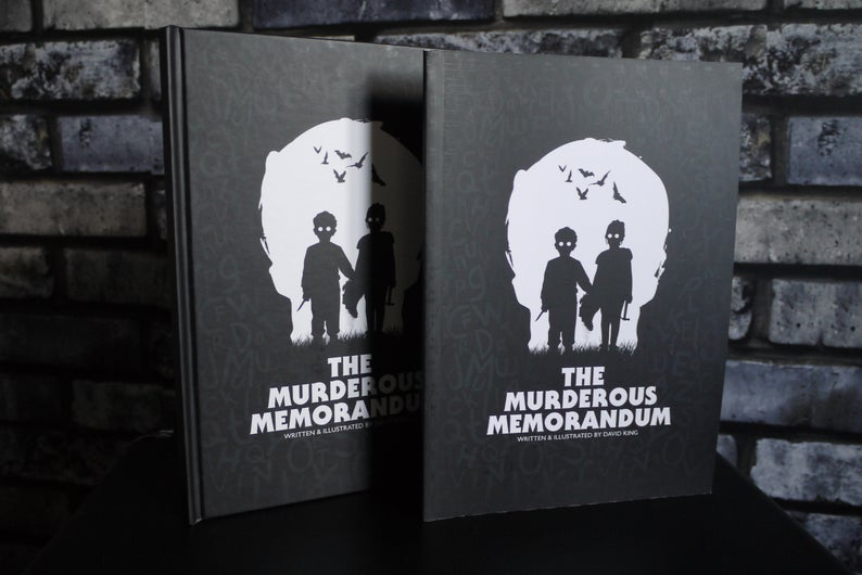 Review: The Murderous Memorandom: Illustrated And Written By David King