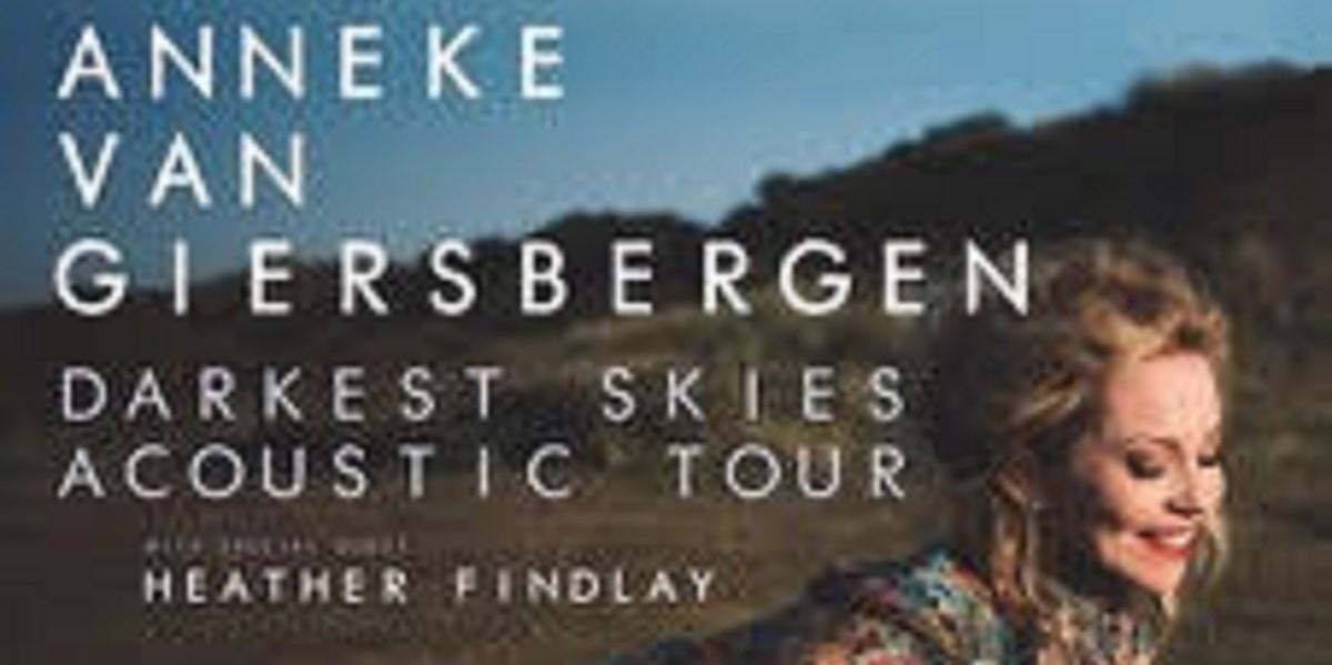 News: Anneke van Giersbergen Announces 'Darkest Skies' Acoustic Solo Tour